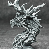 Small Forest Dragon 3D Printing 126475