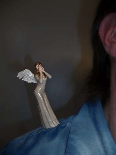 CONSCIENCE  (Angel on my shoulder) 3D Print 126582