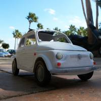 Small Italian Sixties  Car Model 3D Printing 12660