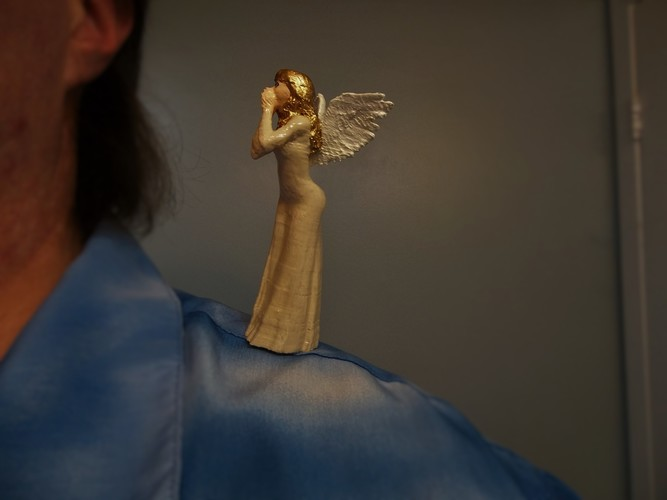 CONSCIENCE  (Angel on my shoulder) 3D Print 126600