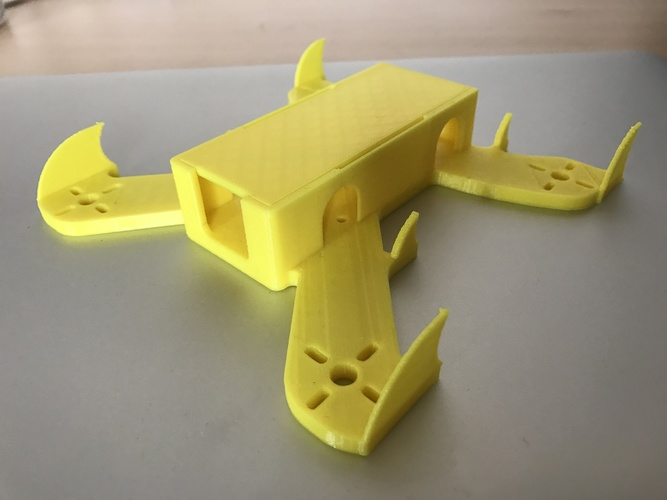 Extreme FPV Racing Quadcopter Design - By 3DEX 3D Print 126630