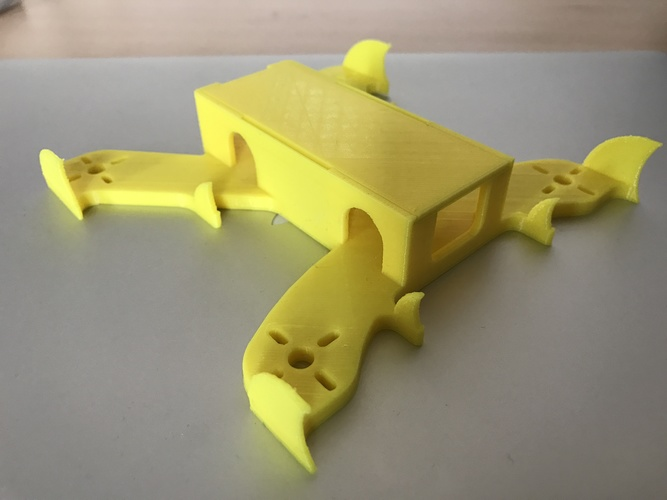 Extreme FPV Racing Quadcopter Design - By 3DEX 3D Print 126631