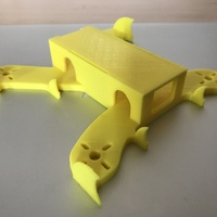 Small Extreme FPV Racing Quadcopter Design - By 3DEX 3D Printing 126631