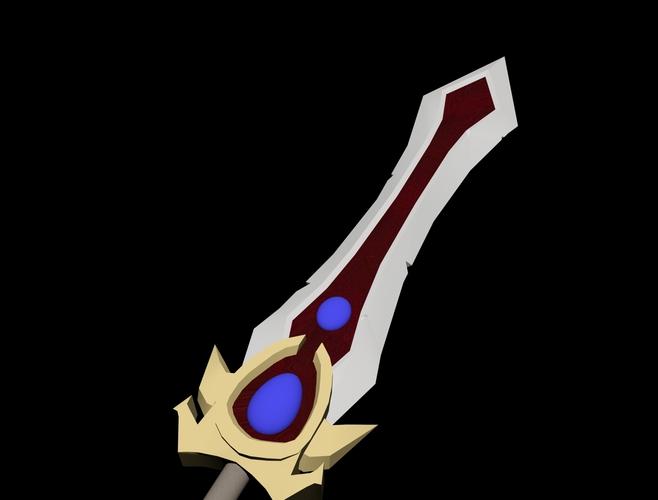 Garenu0027s Sword 3D Print 126636