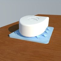 Small Soap Dish 3D Printing 126662