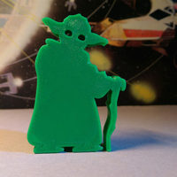 Small Star Wars Yoda 3D Printing 126813