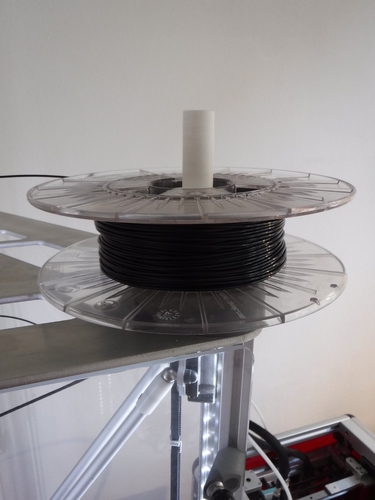 Simple Spool holder for Rostock printers 3D Print 126831