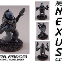 Small Jedel Parghoga, Zyntari Gunslinger 3D Printing 1269