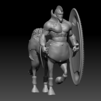 Small Centaur soldier 3D Printing 126930