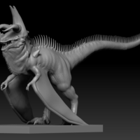 Small Dino Creature 3D Printing 127143