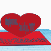 Small Valentine's Day Trinket 3D Printing 127158
