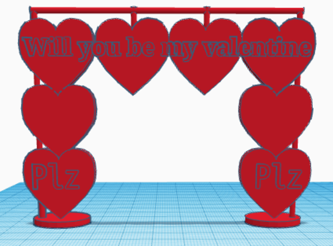 Valentine's Day Project 3D Print 127160