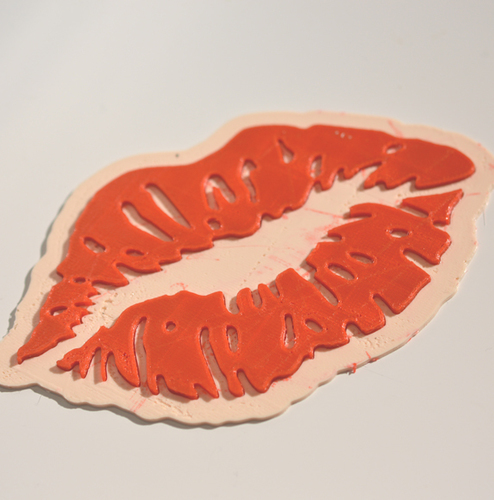 """Kiss my Lips"" 3D Print 127193"