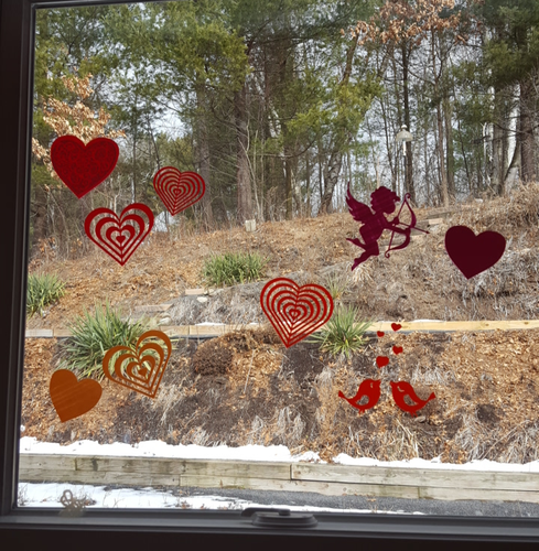 10 Ways to Impress Your Lover Window Decals 3D Print 127315