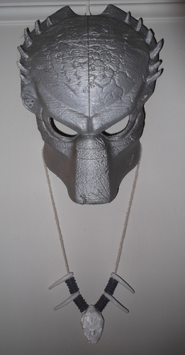 Predator Necklace 3D Print 127363