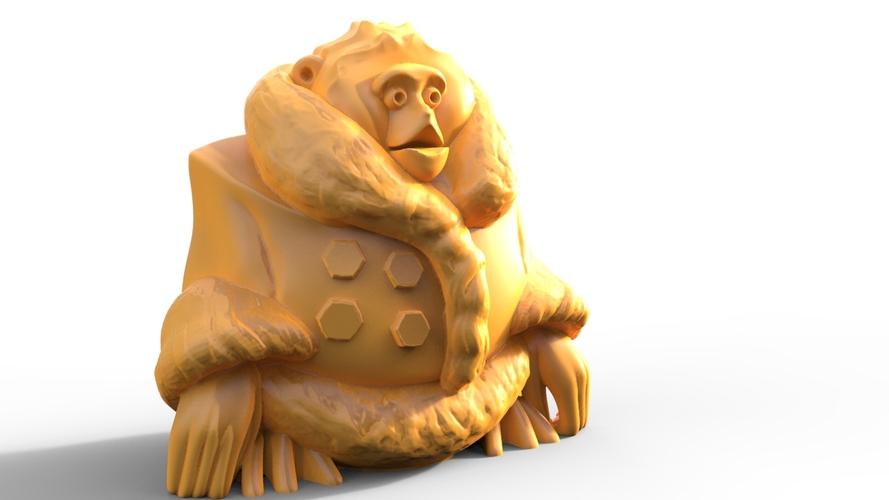 Canadian IKEA Monkey Figurine (Uprising Contest Winner) 3D Print 1276