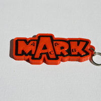 "Small ""Mark"" 3D Printing 127636"