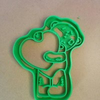 Small bear teddy cookie cutter 3D Printing 127663