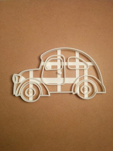 Car cookie cutter 3D Print 127673