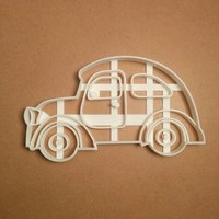 Small Car cookie cutter 3D Printing 127673