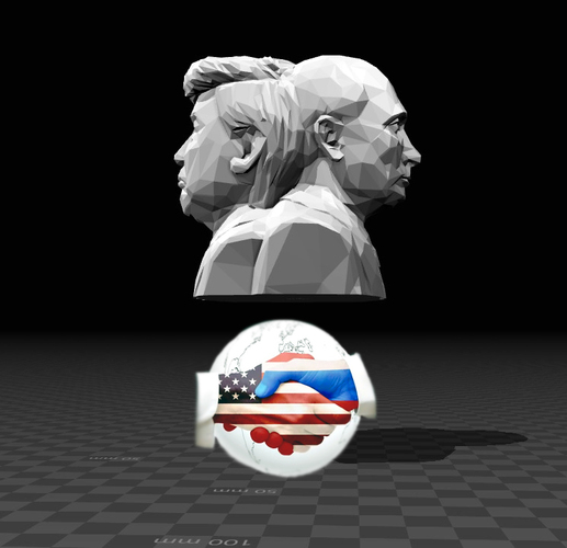 Bust of World's Greatest Leaders 3D Print 127731