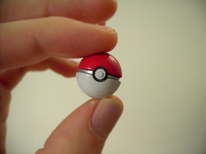 Mini POKEBALL 3D Print 127780