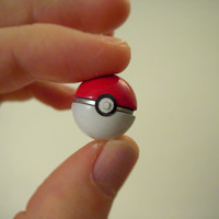 Small Mini POKEBALL 3D Printing 127780
