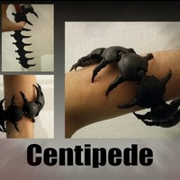 Small Centipede 3D Printing 127791