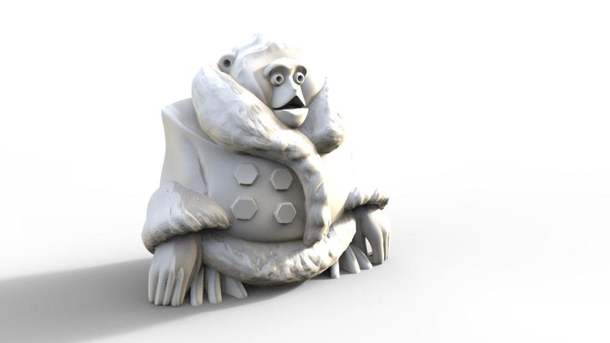 Canadian IKEA Monkey Figurine (Uprising Contest Winner) 3D Print 1278