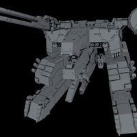Small Metal gear rex  3D Printing 127846