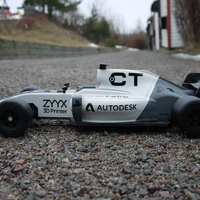 Small OpenRC F1 2017 updates 3D Printing 127864