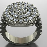 Small Jewelry Ring Women 3D Printing 127882