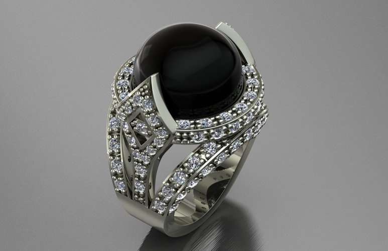 Jewelry Ring Women 3D Print 127885