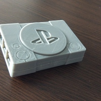 Small Raspberry pi playstation case 3D Printing 127967