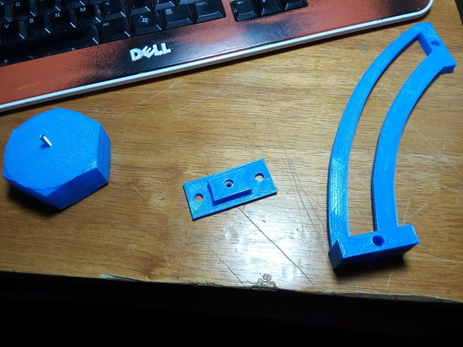Weight Holding HInge for Anet A8 Enclosure or any horizontal doo 3D Print 128016