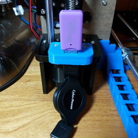 Small Usb 3d printer Mount 3D Printing 128022