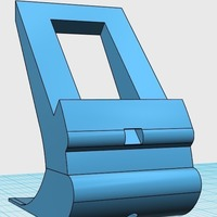Small BLU Vivo 5 Phone Stand 3D Printing 128039