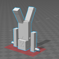 Small Minecraft Character 3D Printing 128214