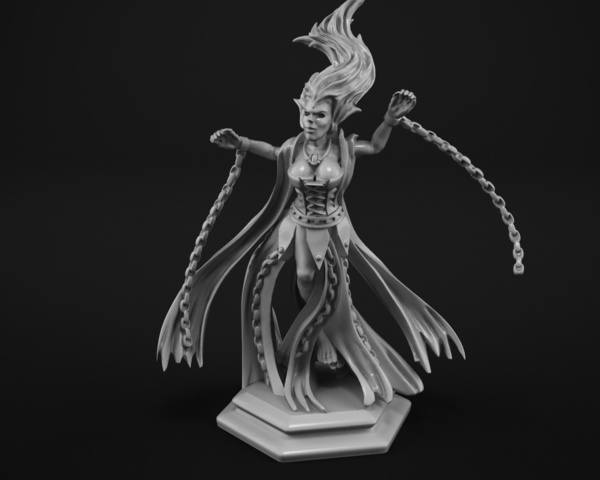 Medium Banshee 3D Printing 128274