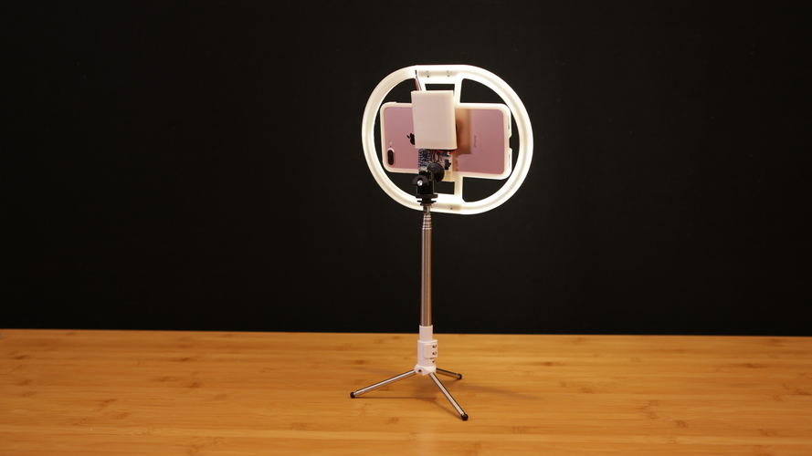 LED Ring Light 3D Print 128371