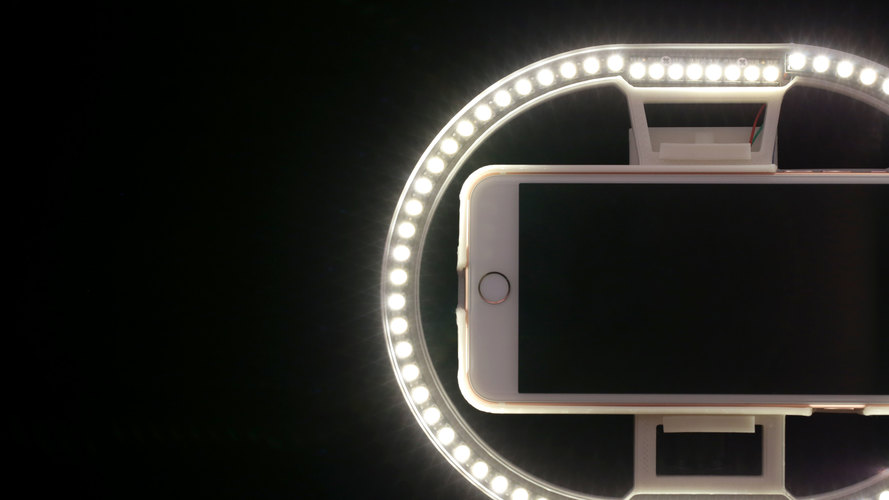 LED Ring Light 3D Print 128381