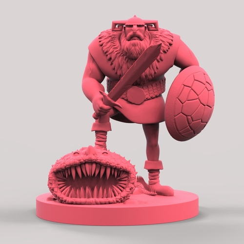 VIKTOR THE KING 3D Print 128382