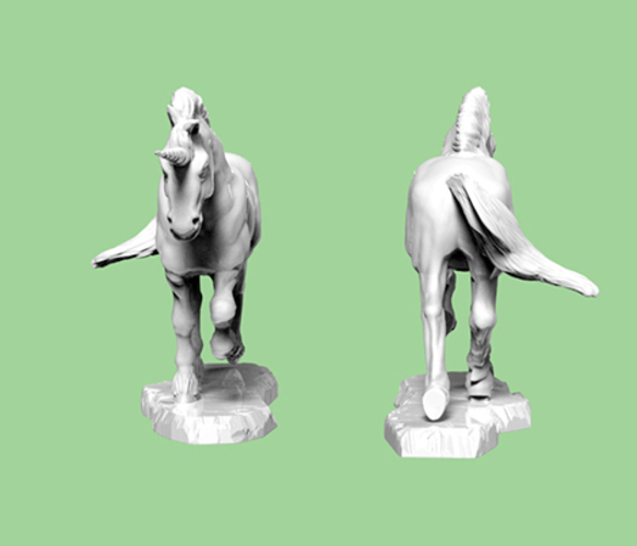 3D Printed Unicorn By Sculptorwanted