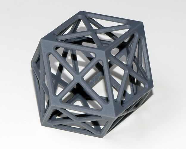Rhombic Dodecabedron 3D Print 128614