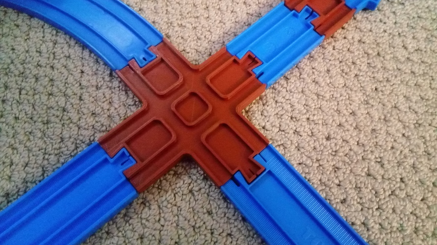 Tomy Plarail Train Track, 90deg Cross 3D Print 128697