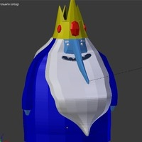Small Ice king twin 3D Printing 128702