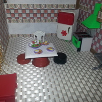 Small kitchen, cocina, cuisine 3D Printing 128915