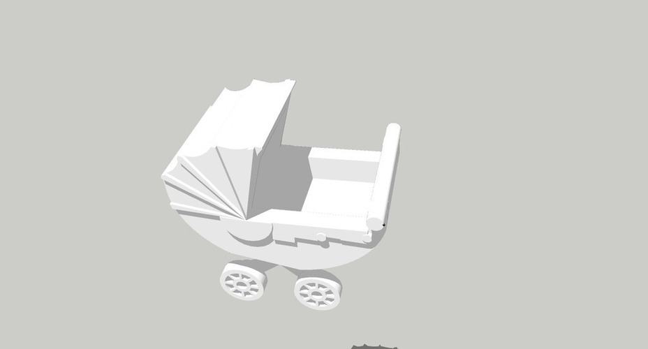 Baby carriage, carrito 3D Print 128920