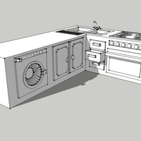 Small Kitchen 3D Printing 128921