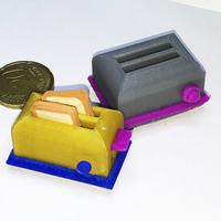 Small Toaster 3D Printing 128938